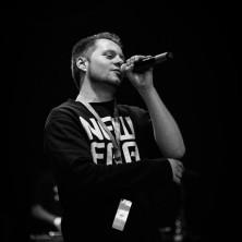 Hip Hop Drummer Charly Beat aus Stuttgart spielt bei Ben Venuto