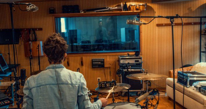 Hip Hop Drum Recording im Tonstudio Stuttgart mit Produzent Charly Beat