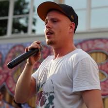 Hip Hop Drummer Charly Beat aus Stuttgart spielt mit SÄDsoundsystem