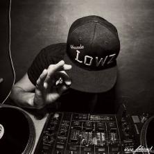 Hip Hop Drummer Charly Beat aus Stuttgart spielt bei DJ Lowz